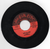SALE ITEM - Bob Marley - Just In Time / version (Mu-Zik City<Studio One>) JA 7""